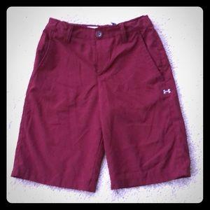 Under Armour boys heat gear golf shorts